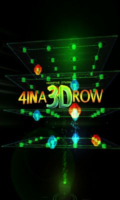 4 in A 3D Row captura de pantalla 1
