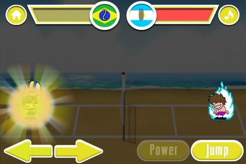 Beach Volley Masters для Android