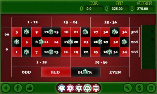 Glücksspiel American roulette für das Smartphone