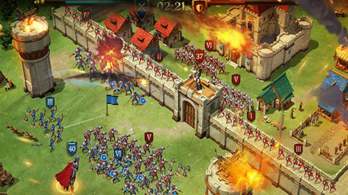 Online-Strategiespiele Legend: Rising empire auf Deutsch