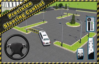 Simulator-Spiele: Lade Limousine parken 3D auf dein Handy herunter