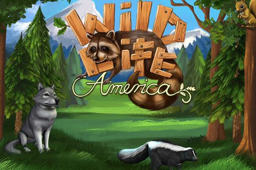 logo Wildes Leben: Amerika. Dein eigener wilder Park