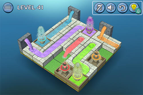 Flow fountain: 3D water puzzle para Android