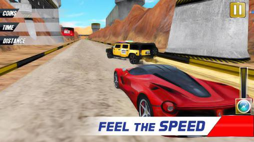 Extreme police car racer für Android