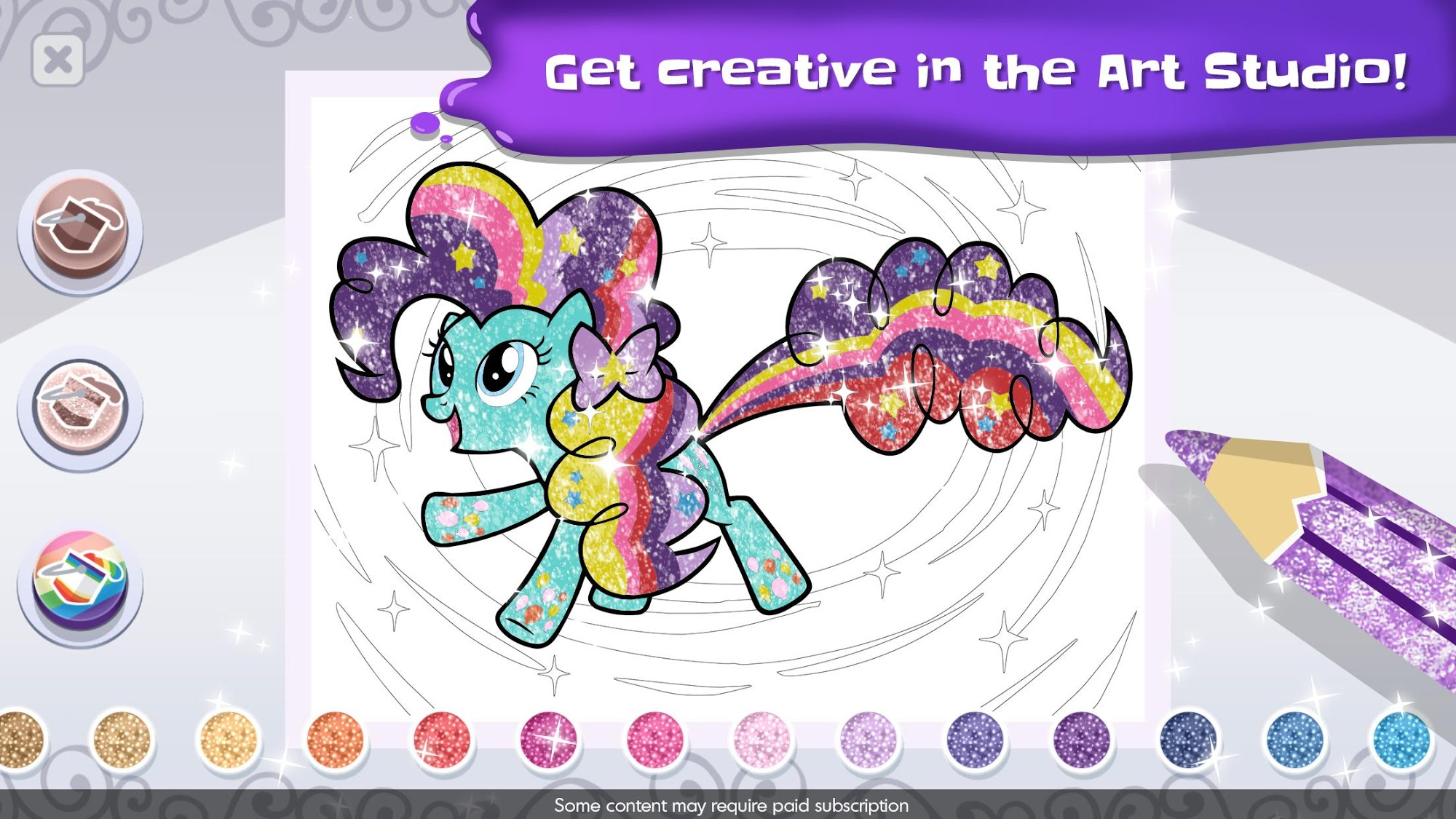 My Little Pony Color By Magic screenshot 3