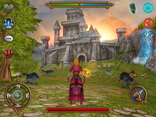 RPG Highland warriors für das Smartphone