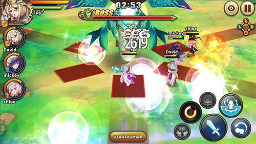 RPG Sacred sword princesses für das Smartphone