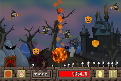 Screenshot Untot an Halloween auf dem iPhone