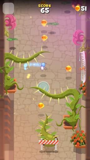 Juegos de arcade Fly by! para teléfono inteligente