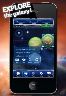 Estrategias: descarga Imperio de galaxias: base en la Luna a tu teléfono
