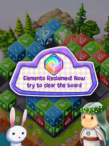 Cubis kingdoms: A match 3 puzzle adventure game für Android