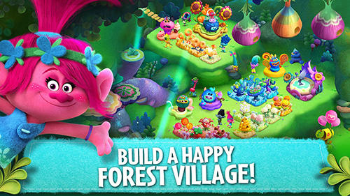 Trolls: Crazy party forest! captura de pantalla 3