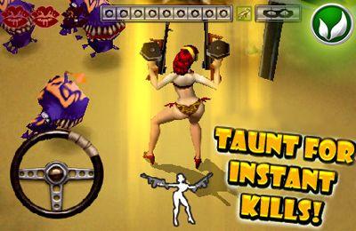 Capture d'écran Daisy Mae l'Exterminatrice des Extraterrestres sur iPhone