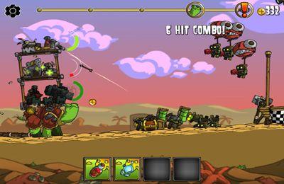 截图超级装甲战龟在iPhone