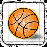 Doodle Basketball Symbol