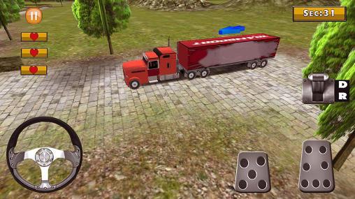 Simulator-Spiele 18 wheeler truck simulator für das Smartphone