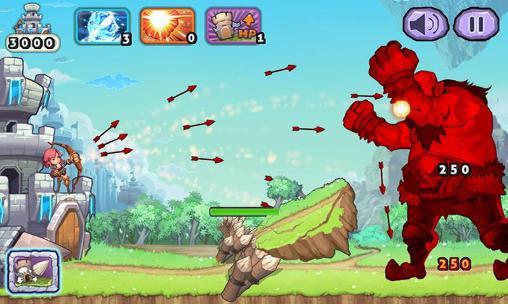 Arcade Giant hunter: Fantasy archery giant revenge für das Smartphone