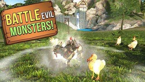 Simulator-Spiele: Lade Ziegensimulator auf dein Handy herunter