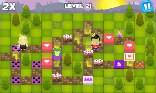 Arcade-Spiele Save the princess für das Smartphone
