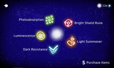 Juegos de arcade Lumos The Dying Light para teléfono inteligente