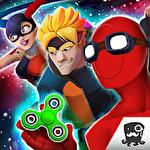 Super hero fighting games Symbol