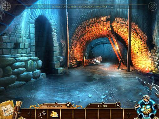 Abenteuer-Spiele Melissa K. and the heart of gold für das Smartphone