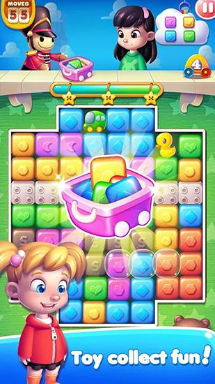 Match 3 games Toy carnival in English