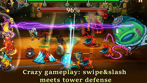 Dungeons and aliens für Android