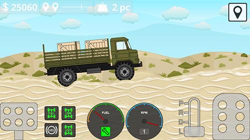 Simulator-Spiele Mini trucker für das Smartphone