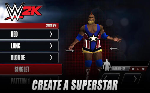 Fighting games WWE 2K15 for smartphone
