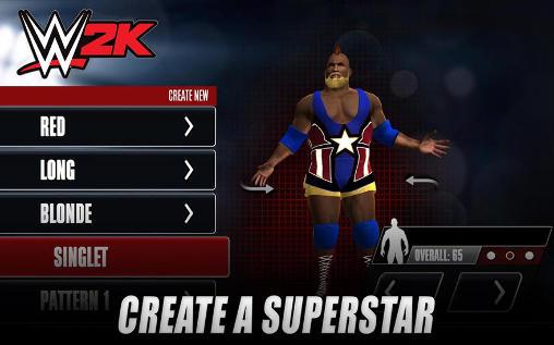 Kampfspiele WWE 2K15 für das Smartphone