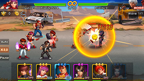 The king of fighters 98: Ultimate match online für Android