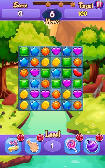 Arcade-Spiele Crush my jelly für das Smartphone