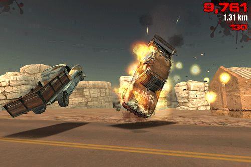 Screenshot Route Z auf dem iPhone