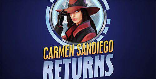 logo Carmen Sandiego kehrt zurück
