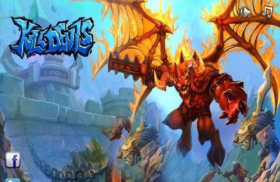 logo Kill Devils - kill monsters to resist invasion & unite races!