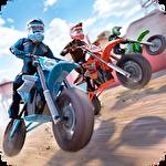Иконка Free motor bike racing: Fast offroad driving game