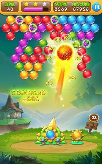 Bubble blast mania для Android