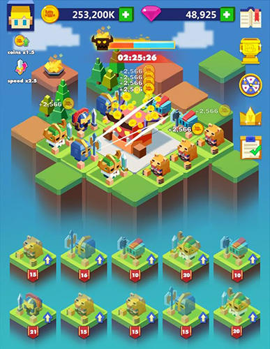 Merge warriors: Idle legion game para Android
