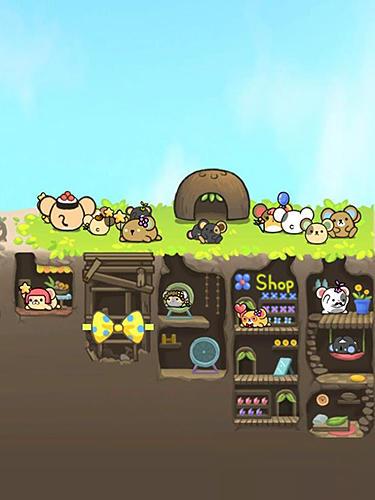 Logikspiele 2048 Hamsland: Hamster paradise für das Smartphone