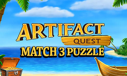 Artifact quest: Match 3 puzzle скриншот 1