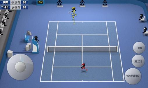 Stickman tennis 2015 für Android