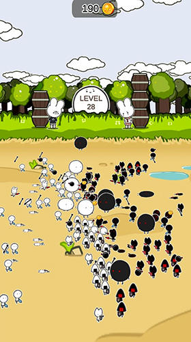 Strategy Mini army for smartphone