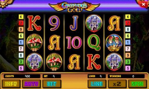 Glücksspiele Gryphon's gold: Slot für das Smartphone