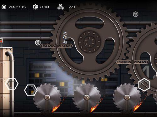 Аркады игры: скачать Atom run на телефон