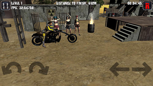 Motorcycle game screenshot 2