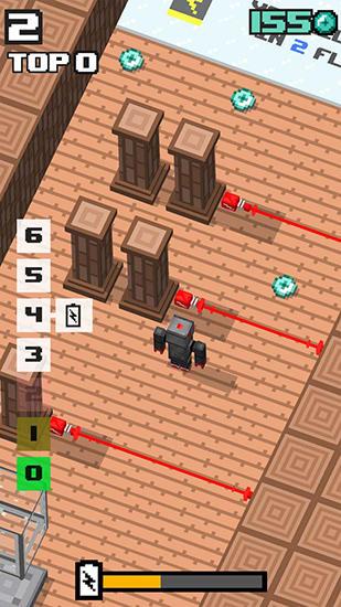 Arcade-Spiele Crossy robot: Combine skins für das Smartphone