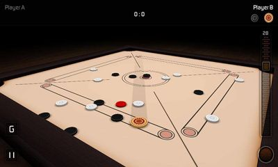 Board games Carrom 3D in English