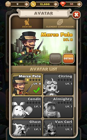 RPG-Spiele 2048 busters für das Smartphone