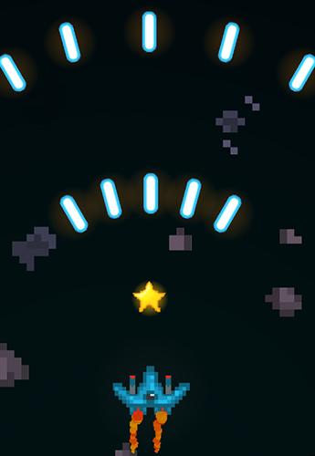 Pixel space blast für Android